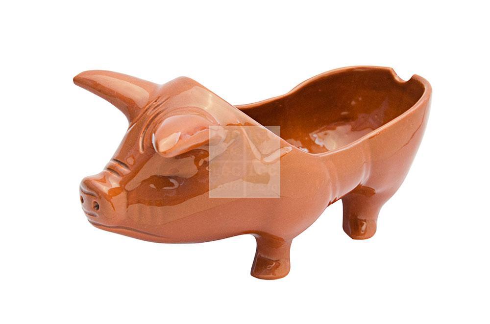 porco barro marrom