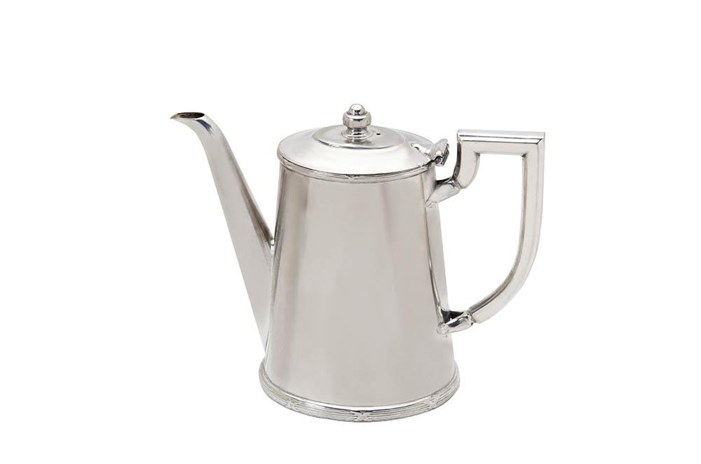 bule café s/pé 1l prata