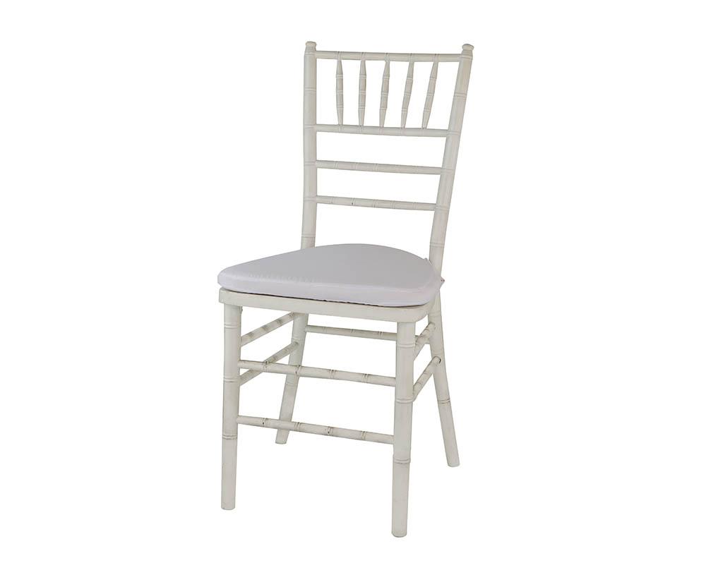 cadeira tiffany branca de resina