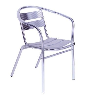 cadeira de alumínio