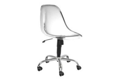 cadeira dkr giratória transparente