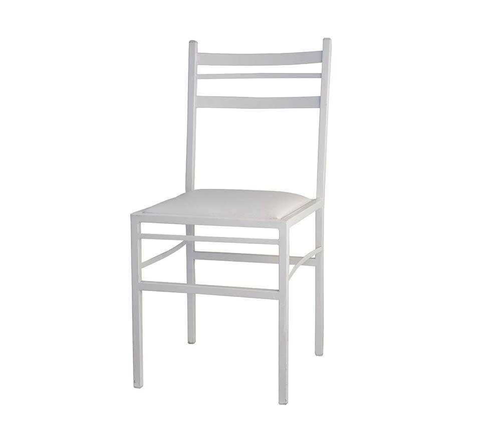 cadeira ferro branco