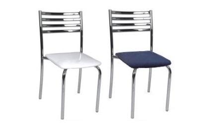 cadeira tl 2 cromada sem braço