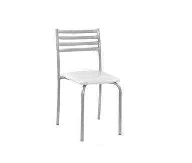 cadeira tl 2 prata sem braço