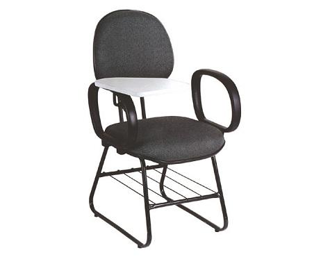 cadeira universitária com braço retrátil