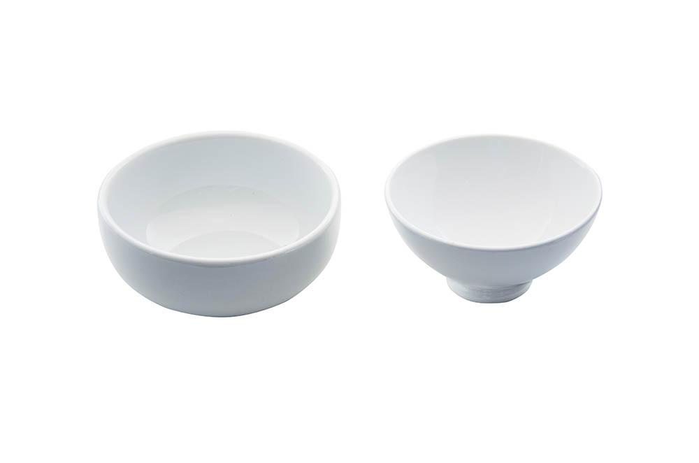 cumbuca chines oriental porcelana branca