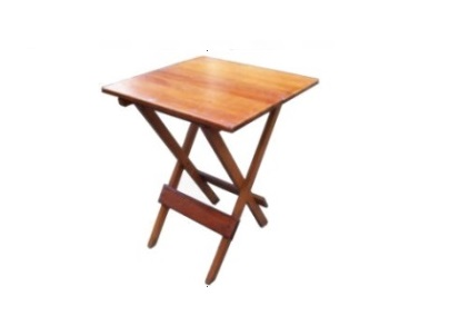 mesa dobrável quadrada
