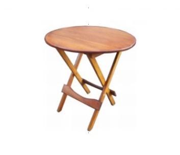 mesa dobrável redonda