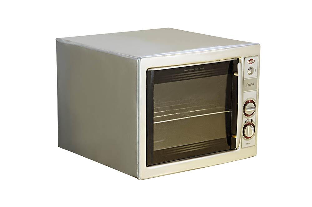 forno elétrico 220v layr pequeno inox