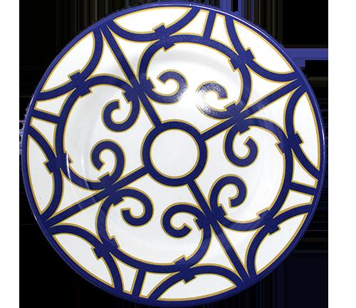 prato sobremesa macedonia azul