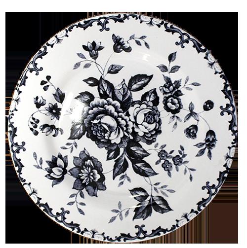 prato sobremesa baroness flor preta