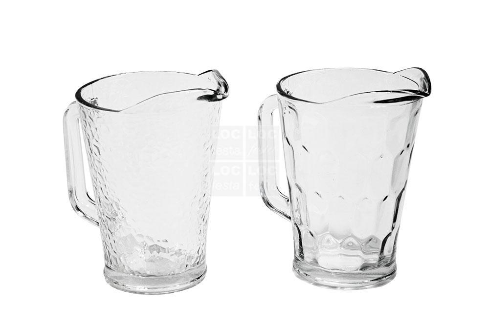 jarra agua vidro grosso