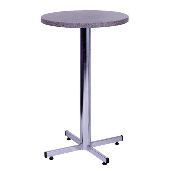 mesa alta de bar com tampo de granito