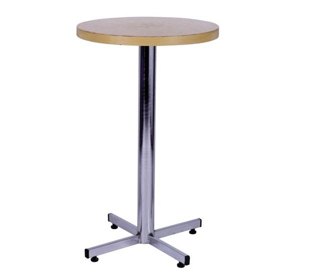 mesa alta de bar com tampo marfim