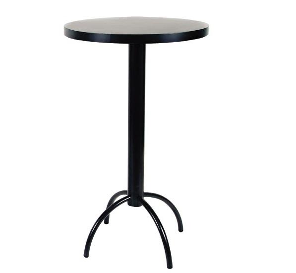 mesa alta de bar tabano preto