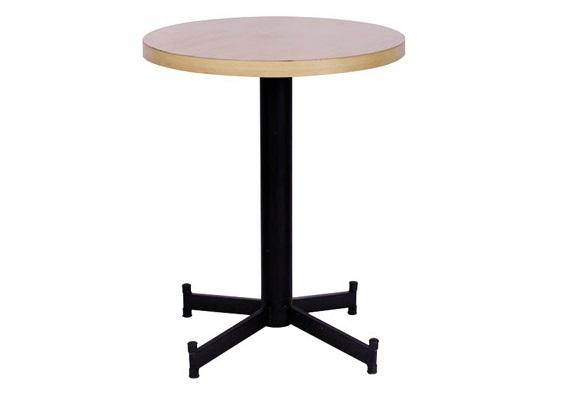 mesa baixa de bar com tampo marfim