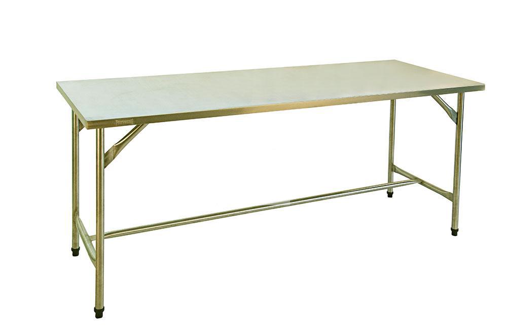mesa bancada em aço inox 1.90×0.70×0.90