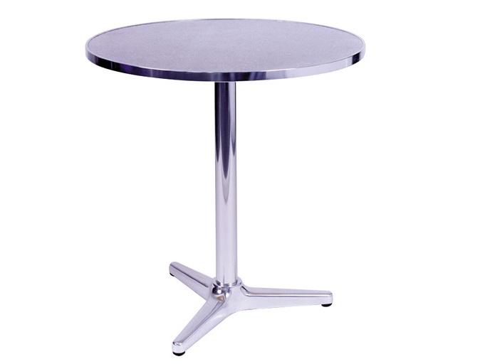 mesa de alumínio