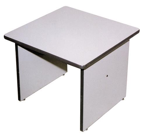 mesa de canto cinza