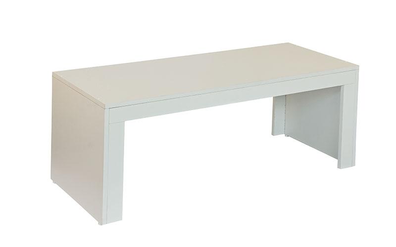 mesa de centro retangular