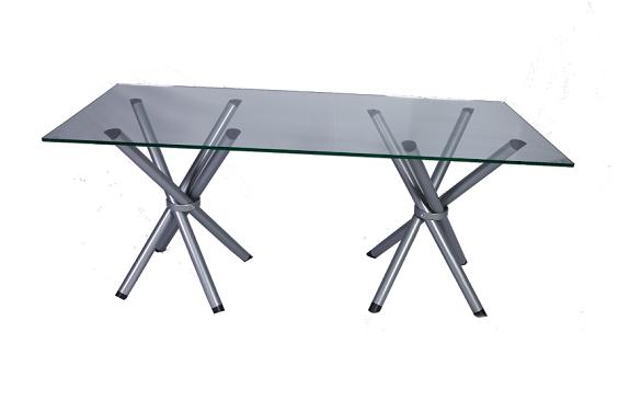 mesa de reunião - pés x pratas