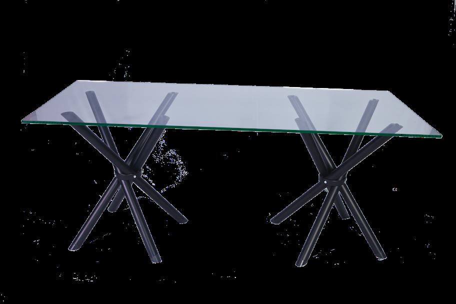 mesa de reunião - pés x pretos