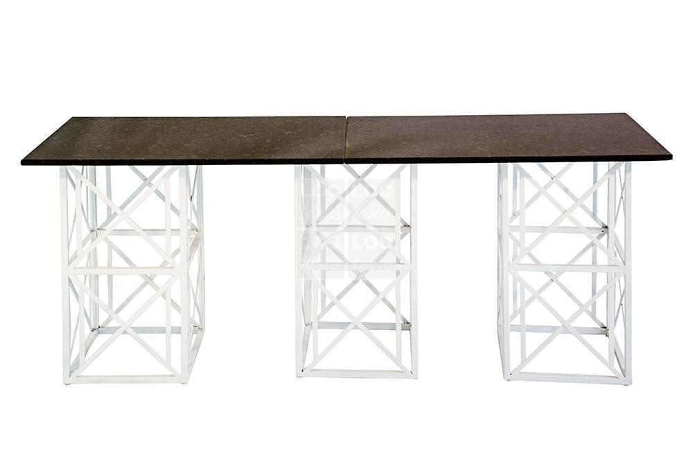 mesa tampo granito preto