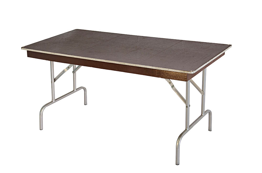 mesa pranchão madeira pé de ferro