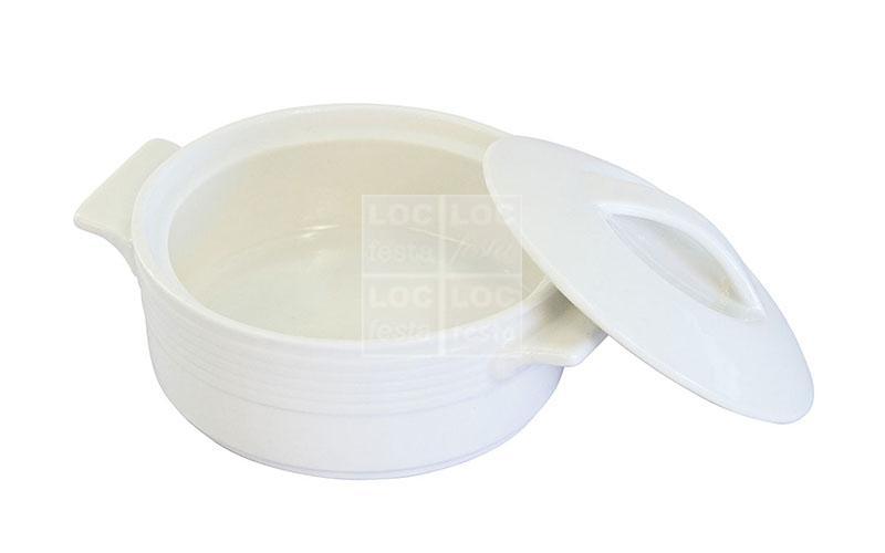 panelinha c/tampa redonda branca