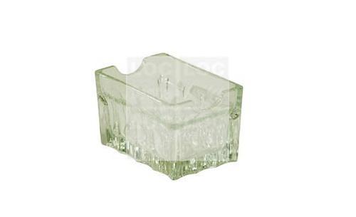 porta sachê cristal 9 x 6 cm