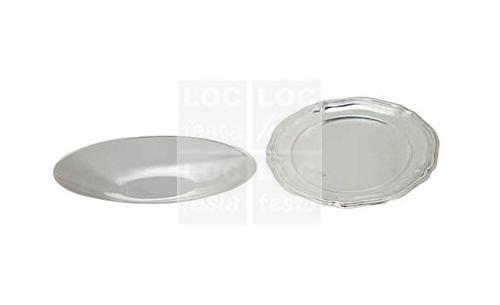 porta salgadinho oval prata 21x10 – rizzo