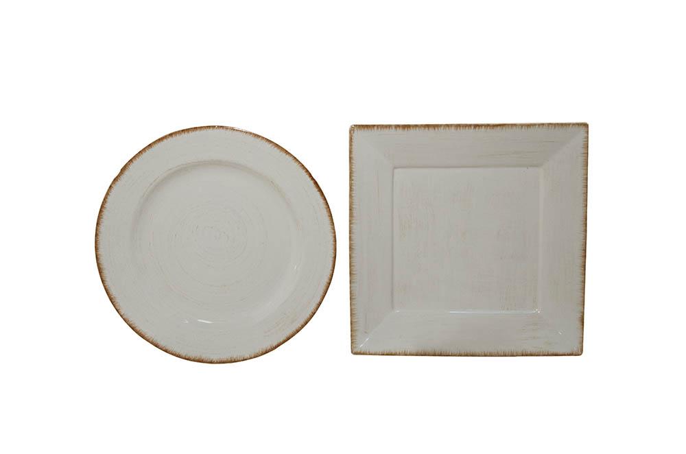 prato canapé branco detalhe bege