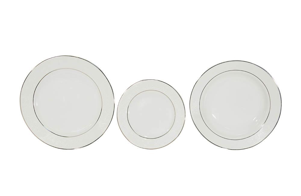 pratos linha filete cinza
