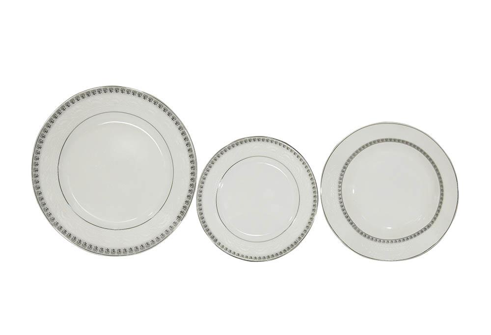 pratos linha filete prata itamaraty
