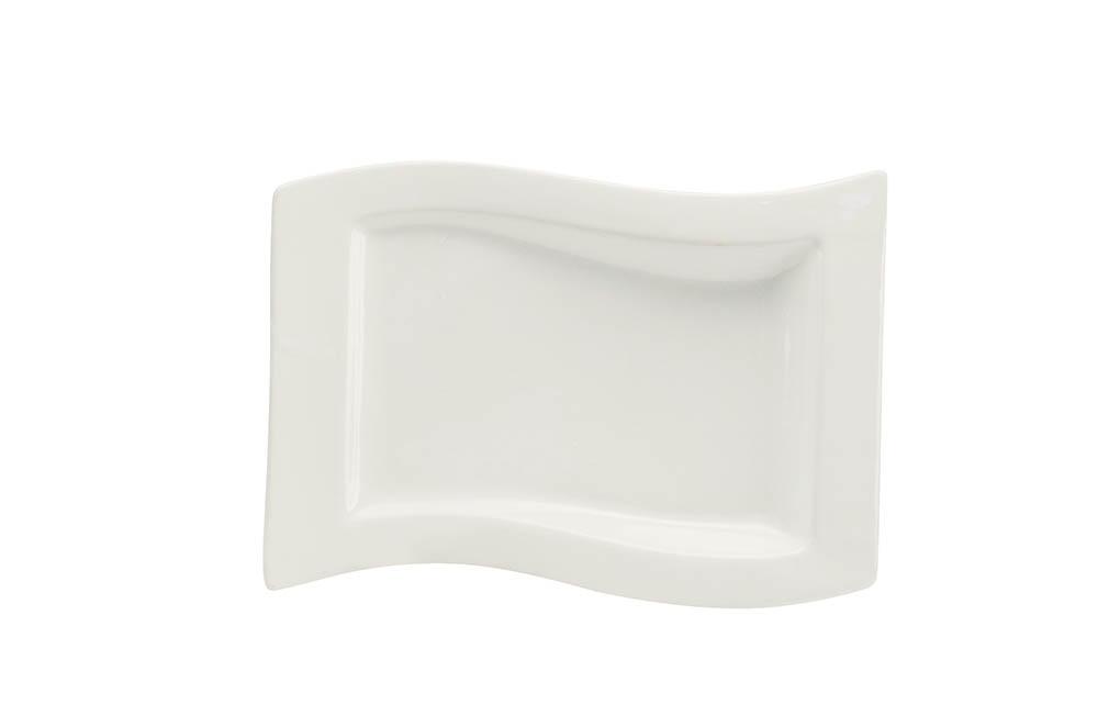 prato onda ret. 32 x 20 raso branco scalla