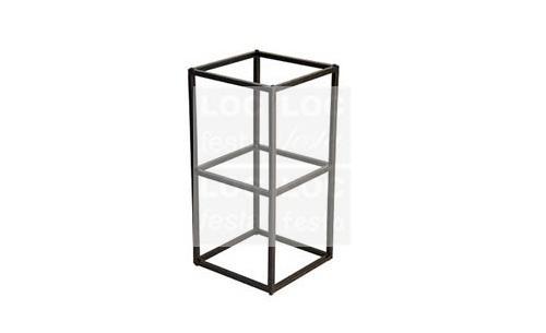 pé ferro retangular – estrutura