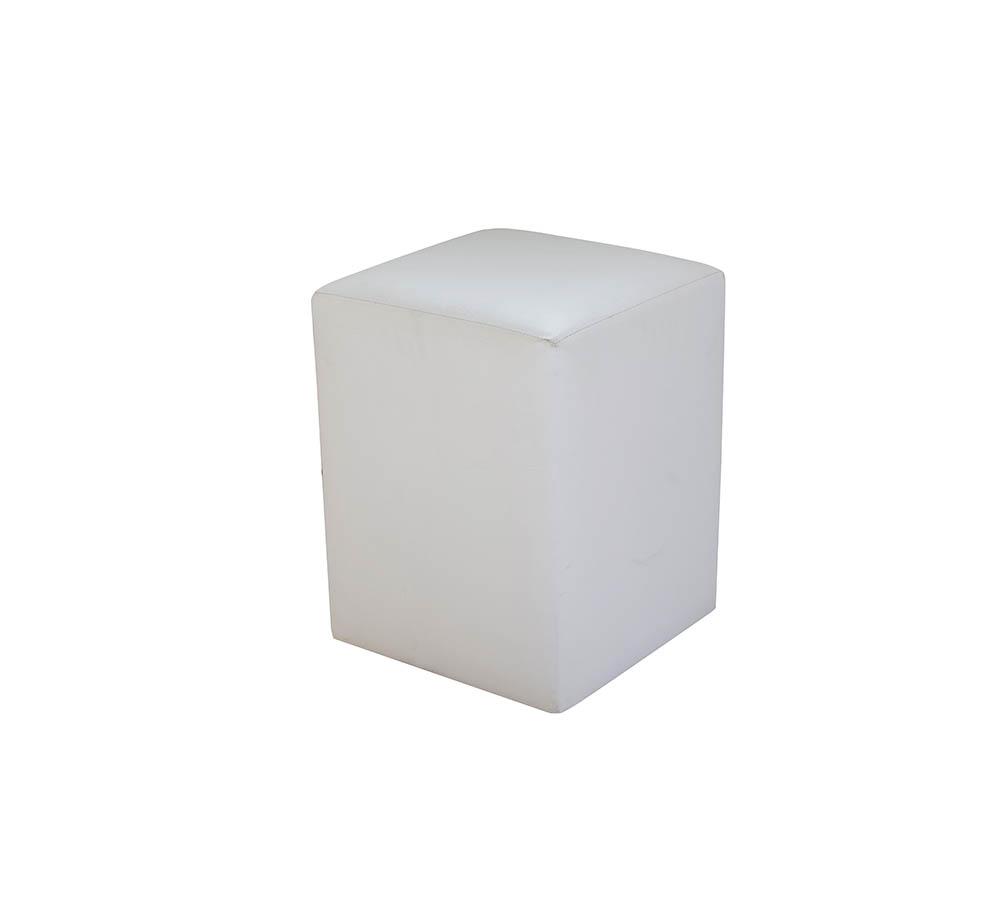 puff branco e preto 40×40