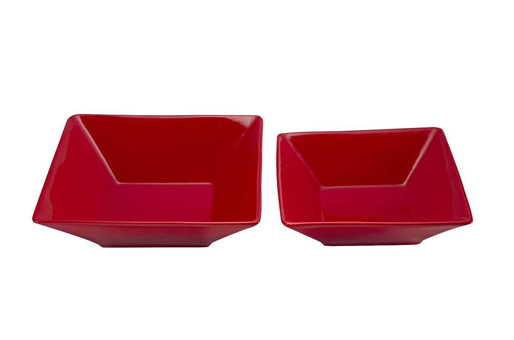 saladeira quad. funda vermelha scalla