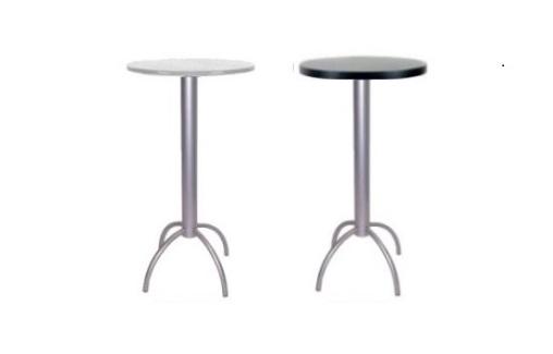 mesa alta de bar tabano prata