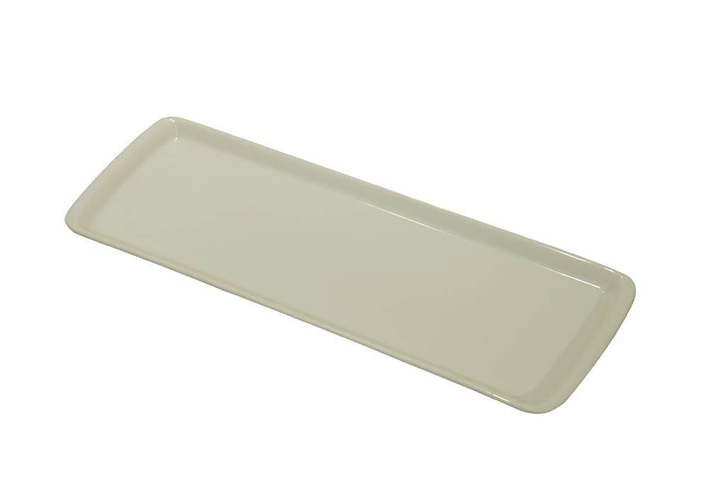 trav. ret. 0,39 x12,5 porcelana branca