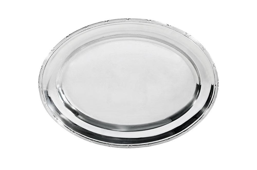 travessa oval croise prata 0,50
