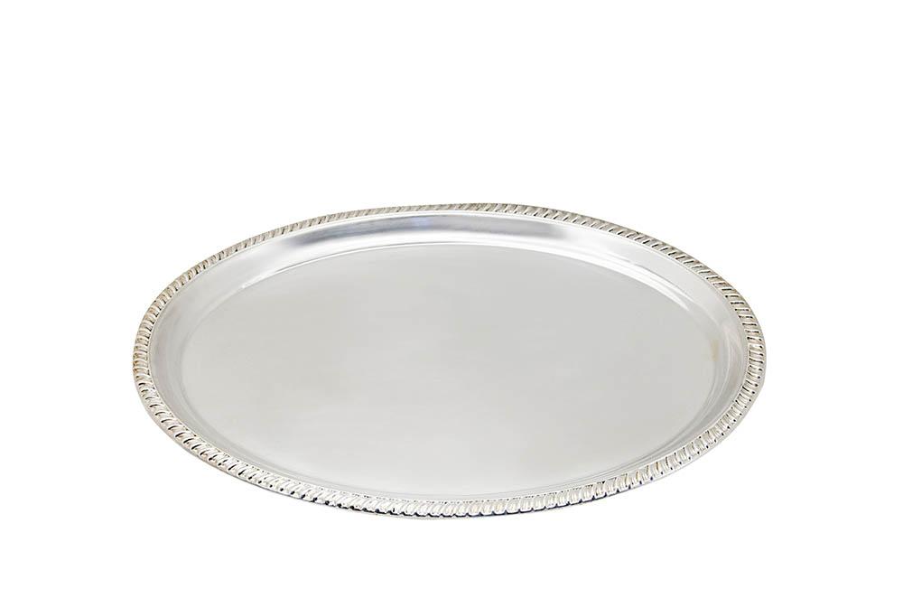 travessa oval friso prata 0,55x0,41