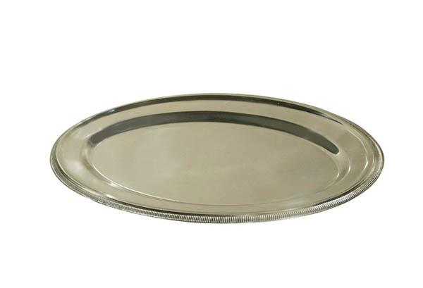 travessa oval inox 0,70 – friso